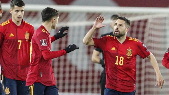 Selección Española partido bryan gil Luis Enrique