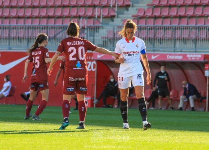 El Sevilla FC Femenino – EDF Logroño, en fotos