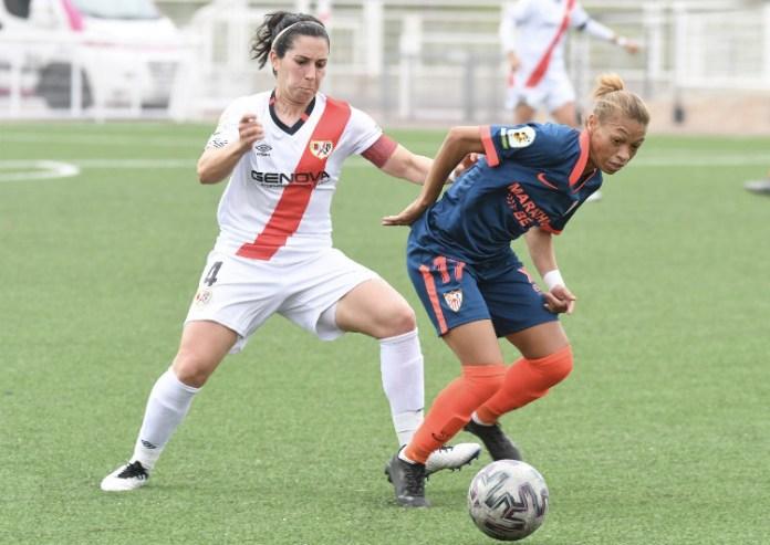 El Sevilla FC femenino cayó en la expedición a Vallecas