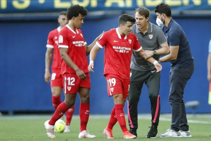 El Sevilla FC cayó por 4-0 contra el Villarreal y con las malas noticias de la expulsión de Diego Carlos