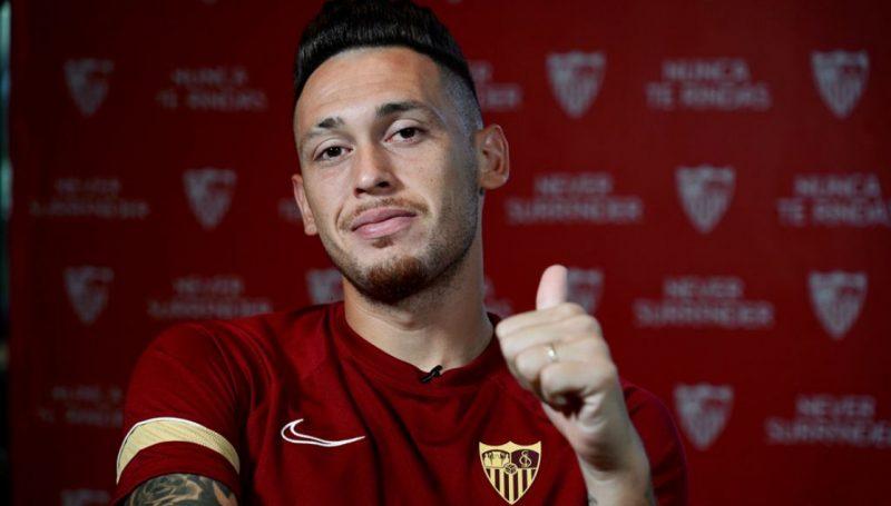 gonzalo montiel Lucas Ocampos noticias Sevilla FC