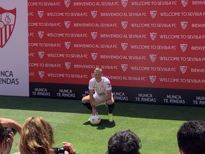 Ludwig Augustinsson Sevilla FC Fichajes