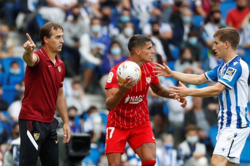 Sevilla FC Julen Lopetegui Sevilla Fútbol Club