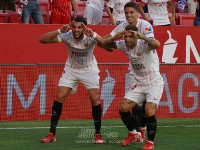 Las mejores fotos de la victoria del Sevilla FC sobre el Valencia CF