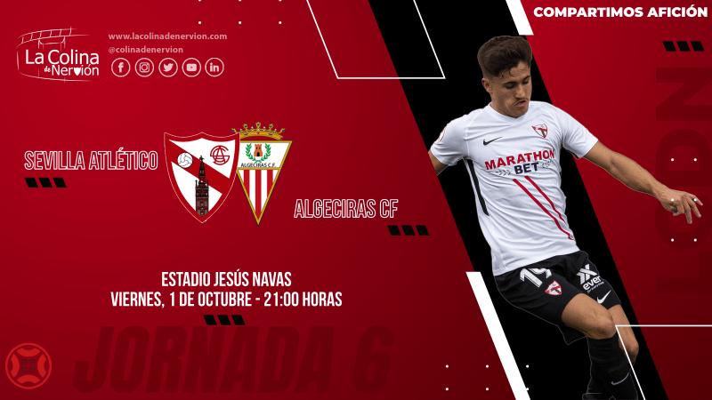 segunda Primera RFEF división b Sevilla FC Atlético noticias algeciras cf