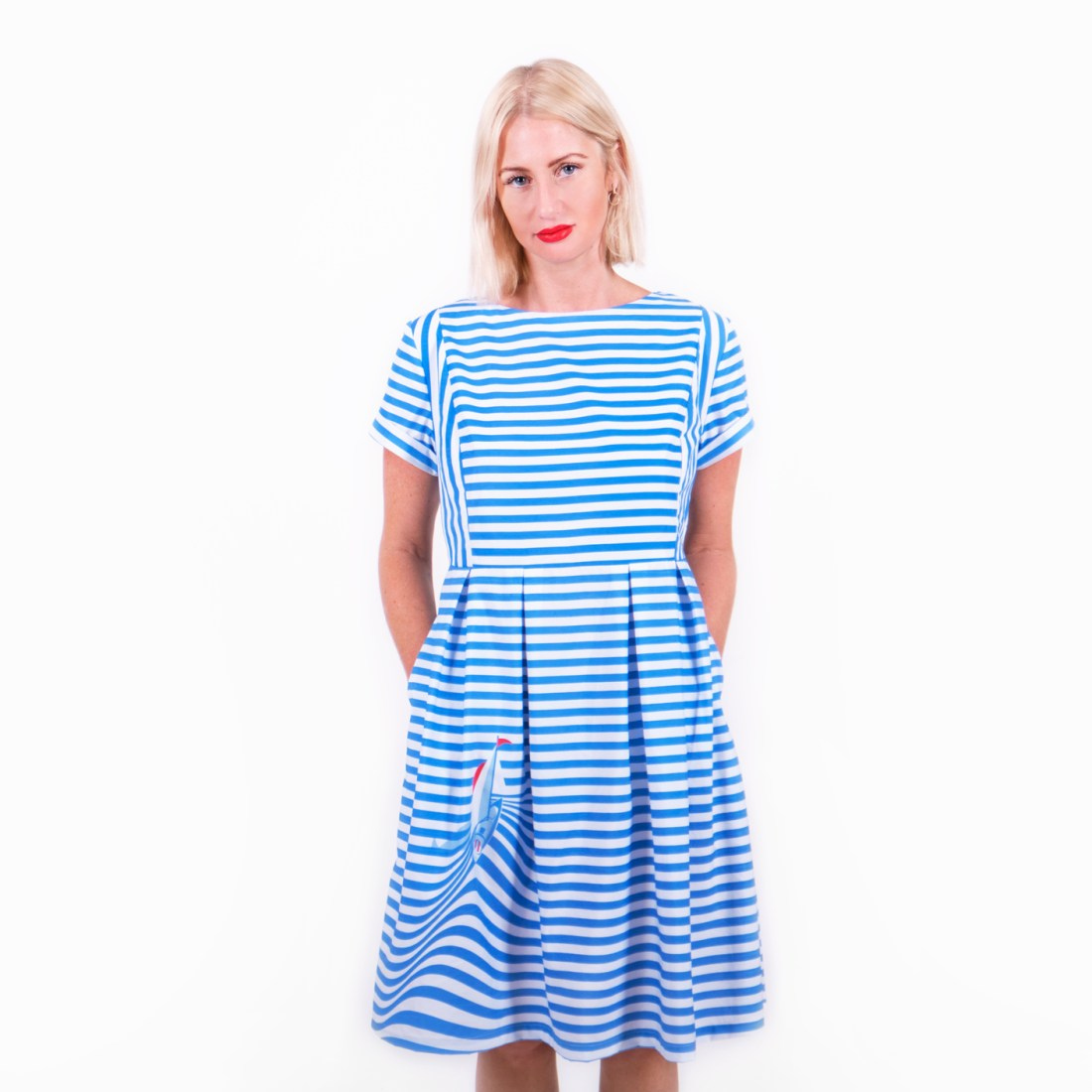 Sail Away Dress by La Come Di
