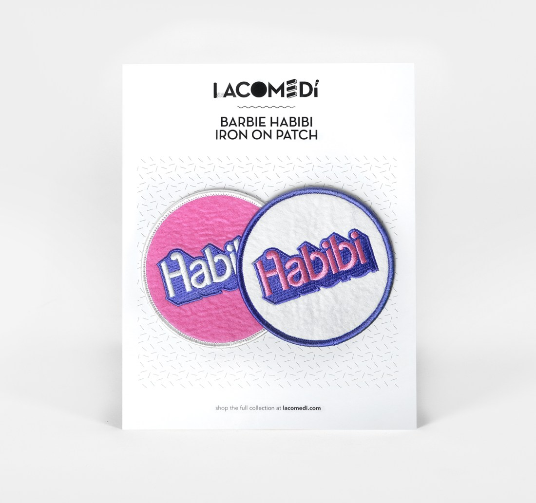 Habibi Patches Set by La Come Di