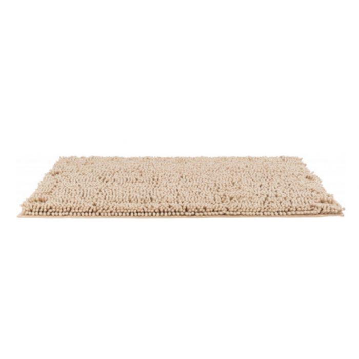 trixie tapis absorbant anti saletes beige pour chien 80 x 60 cm