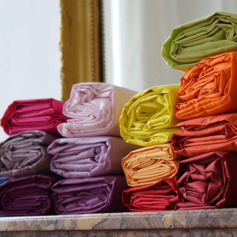 Drap Housse Bonnets 40 Cm Pour Matelas Epais Et Enveloppant Percale