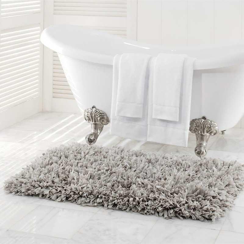 tapis de bain la compagnie du blanc