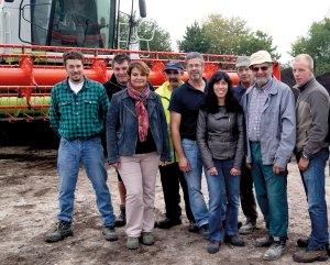 équipe de la Compostière de l'Aube