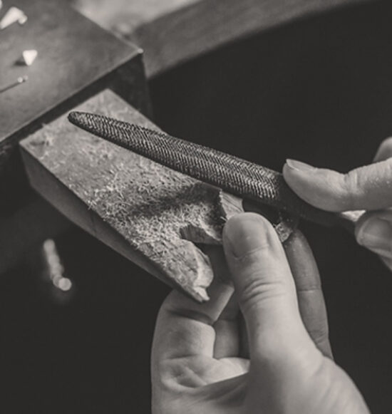 bespoke jewellery design process by Lindsay Forbes