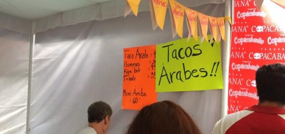 La cortadora en la Feria del Taco en Tlalpan