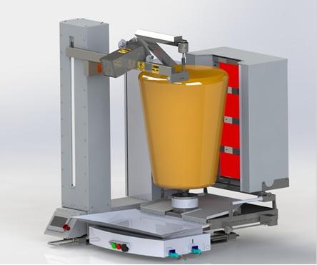 Taquero Robot Diseño