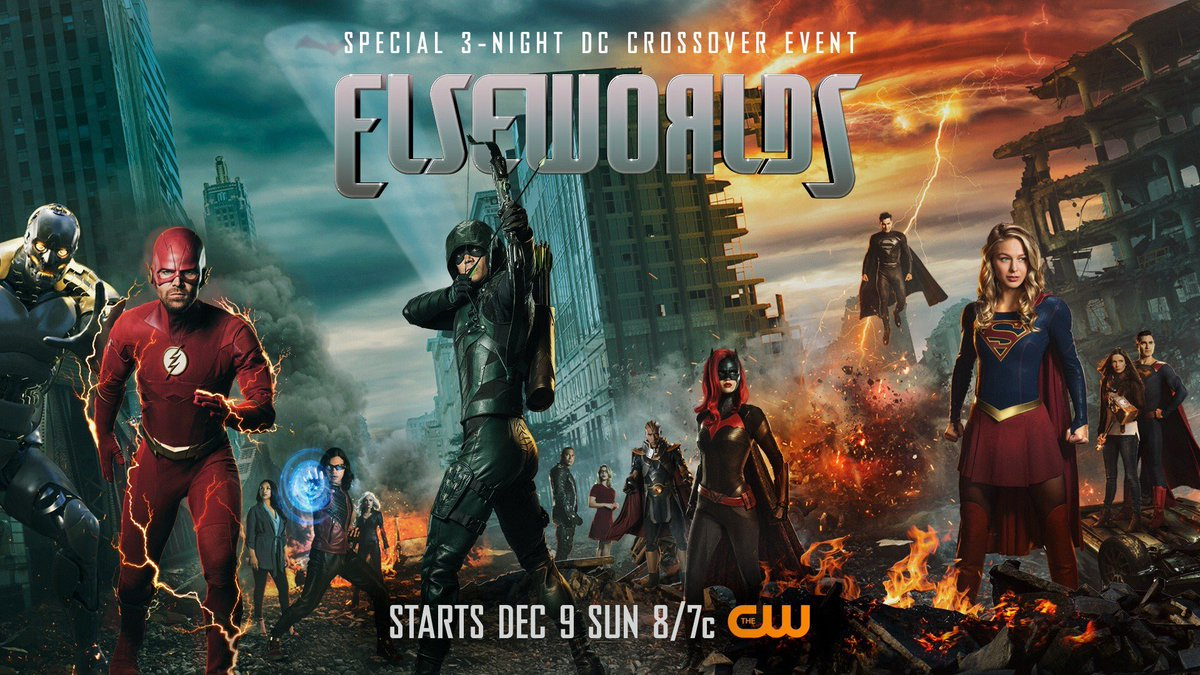 Elseworlds presenta nuevo póster
