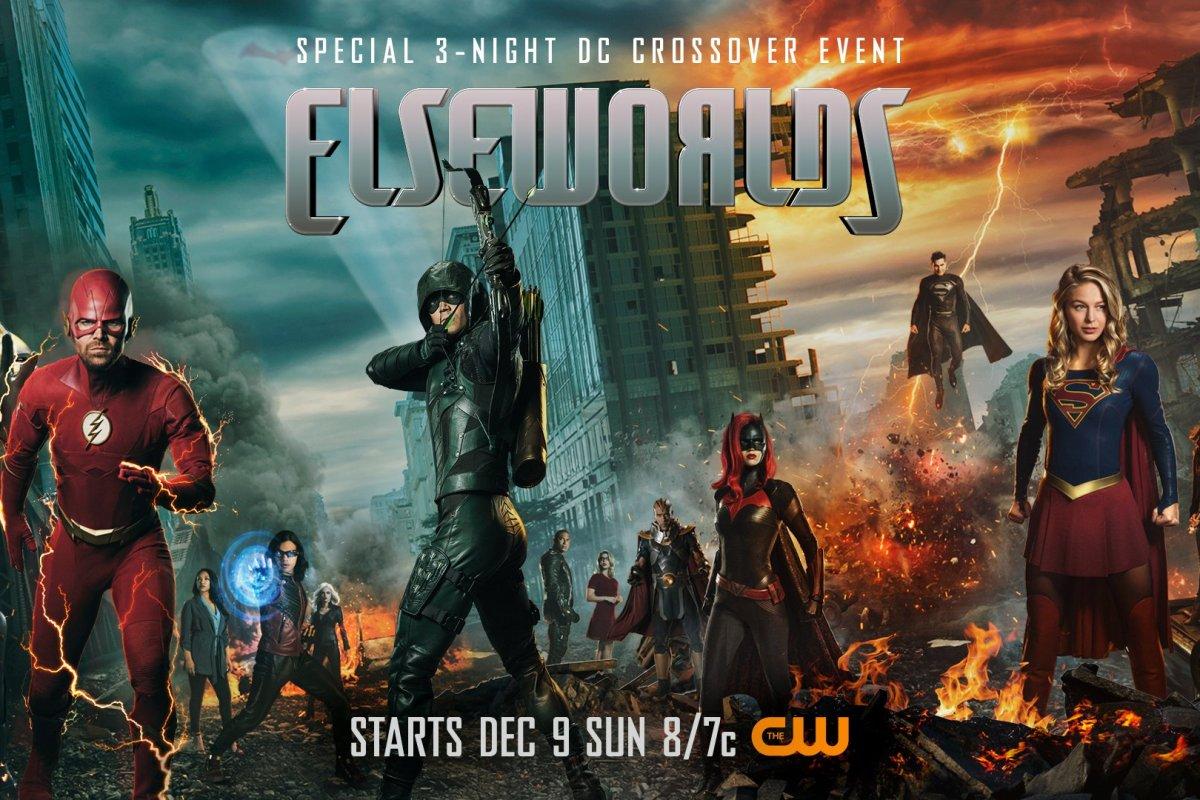 El Arrowverse anticipa el crossover de 2019
