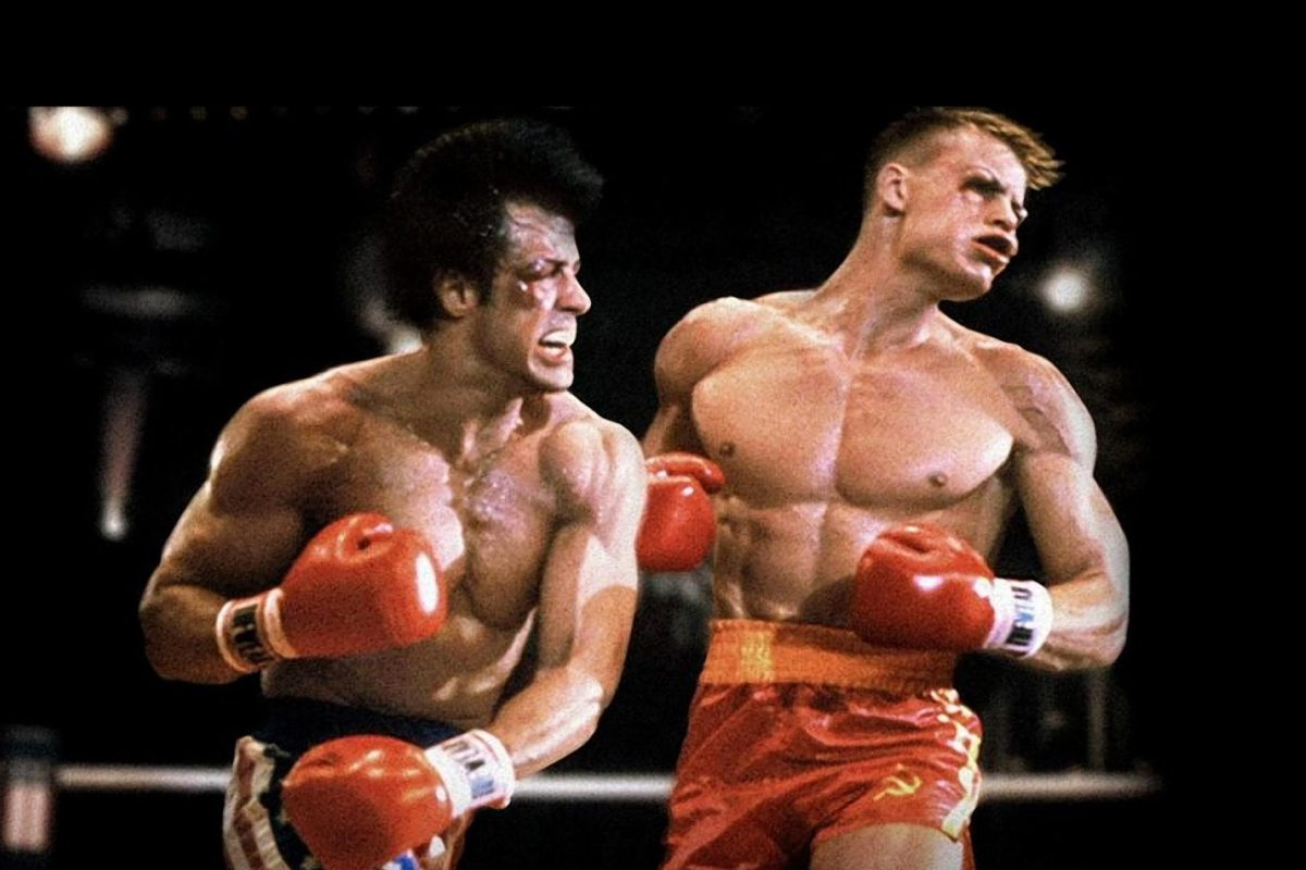 Rocky y Drago se enfrentan en una escena eliminada de Creed II