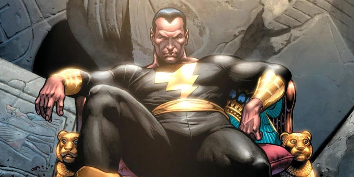 Black Adam contará con otros importantes personajes de DC