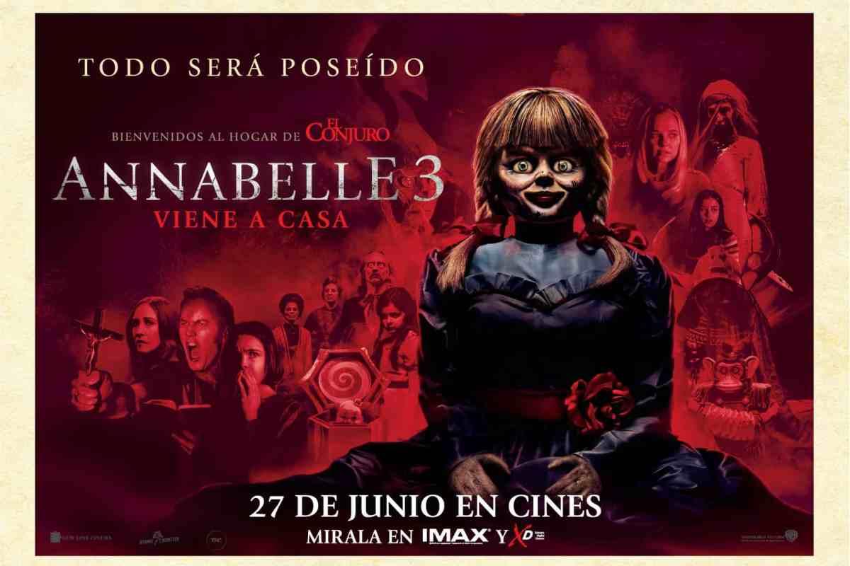 AVANT PREMIERE LA COSA CINE: ANNABELLE 3: VIENE A CASA