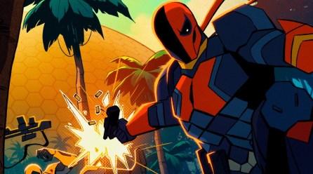 Primer vistazo a la serie animada de Deathstroke
