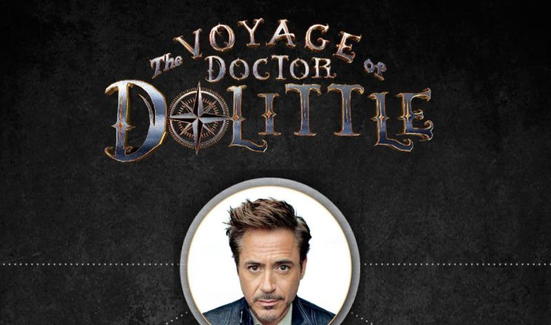 Robert Downey Jr. protagoniza el primer trailer de Dolittle
