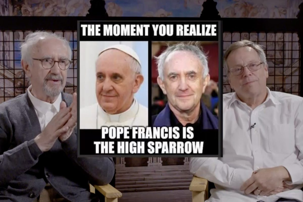Los Dos Papas: Hablamos con Jonathan Pryce, Juan Minujín y Fernando Meirelles