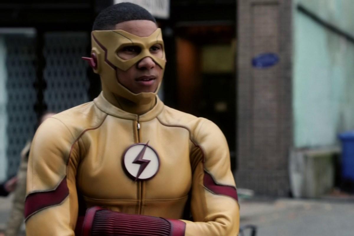 Barry y Wally unen fuerzas en nuevas imágenes de The Flash