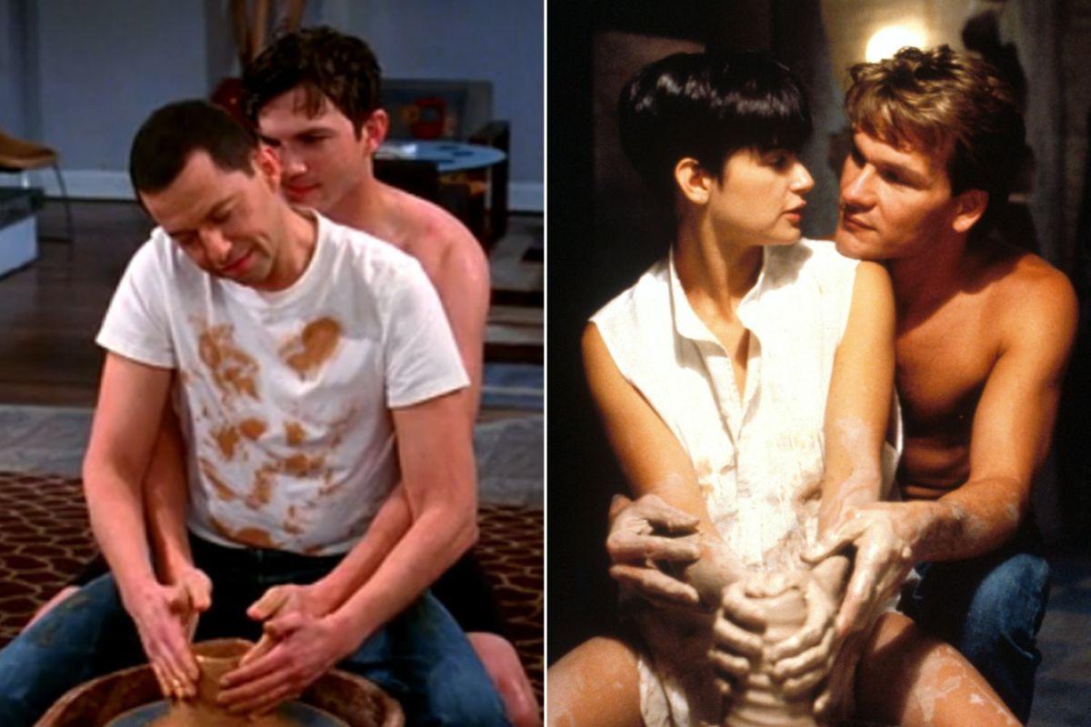 Cinco películas o series que parodiaron la clásica escena de Ghost