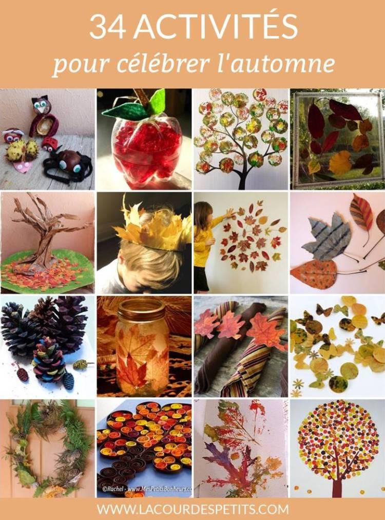 bricolages automne enfant