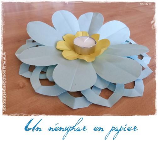 Faire Des Fleurs En Papier Kirigami La Cour Des Petits