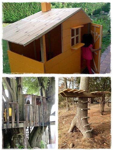 construire une cabane pour les enfants