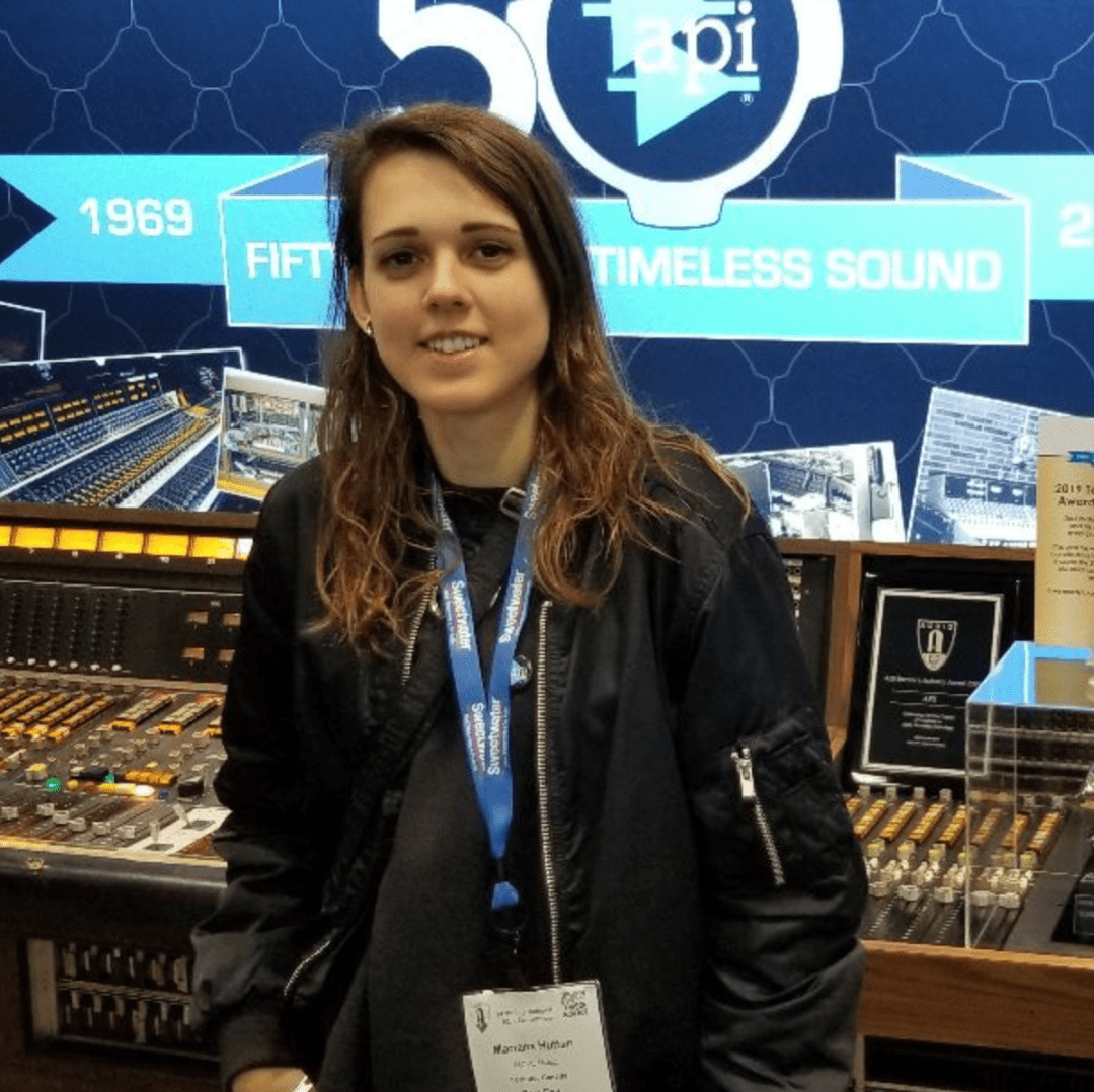 Marianna Hutton - Mastering Engineer
