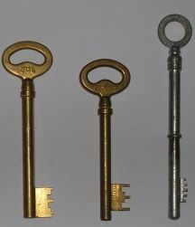 fabriquer une clef a partir de la serrure