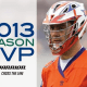 Crowley Named 2013 Warrior MVP