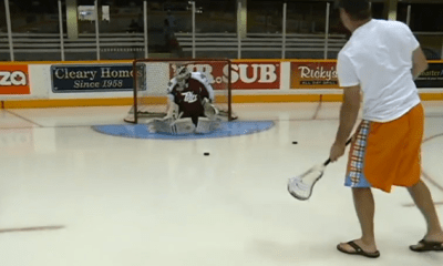 John Grant Jr. Takes his Talents to the Hockey Rink