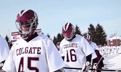 Video Highlights: Colgate Scores 3 Goals in 49 Seconds to Defeat Bryant, 7-4
