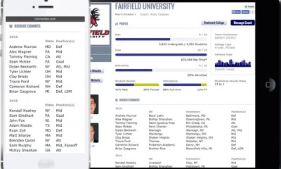 See which recruits have committed at your target schools