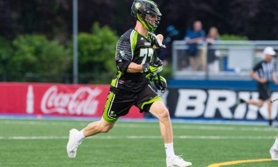 Ben Randall with the New York Lizards