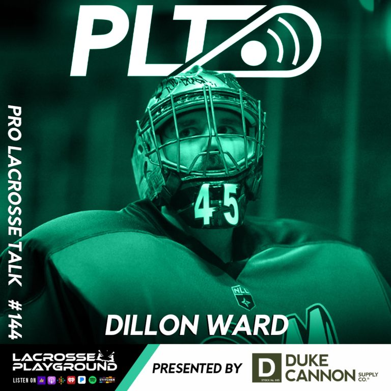 Dillon Ward: Playing for the Colorado Mammoth, Embracing #TradeWard and Joining Waterdogs LC (Pro Lacrosse Talk Podcast #144)
