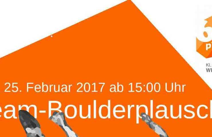 Team-Boulderplausch in Winterthur - 6aplus