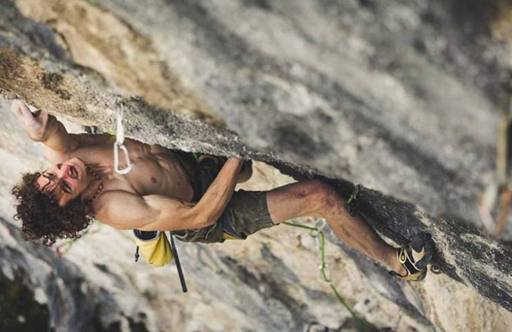 Adam Ondra in Queen Line at Arco - Italy