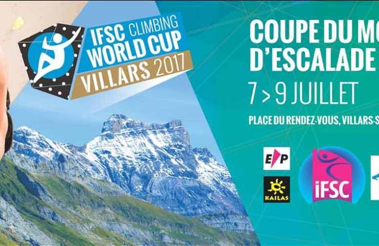 IFSC Weltcup Lead-Speed in Villars (Schweiz)