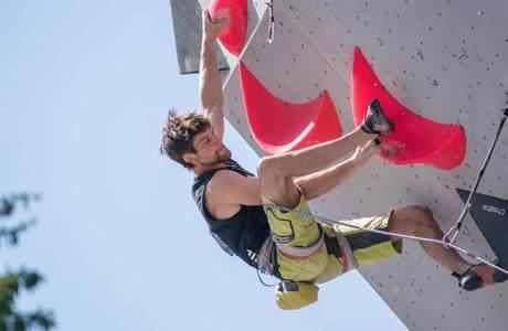 Jan Hojer am Weltcup in Villars - Schweiz