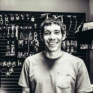 Alex Honnold - Training Hangboard Bild zVg Black Diamond