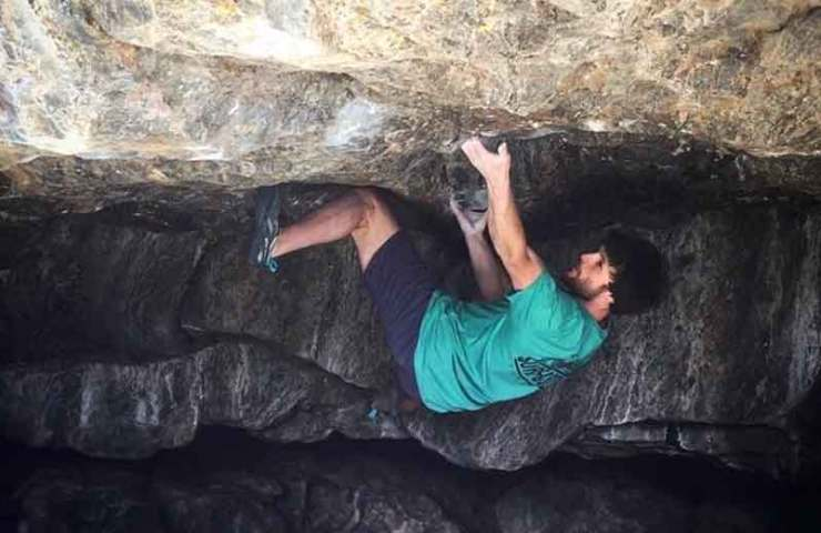 Jimmy Webb climbs 8c + Boulder Creature from the Black Lagoon