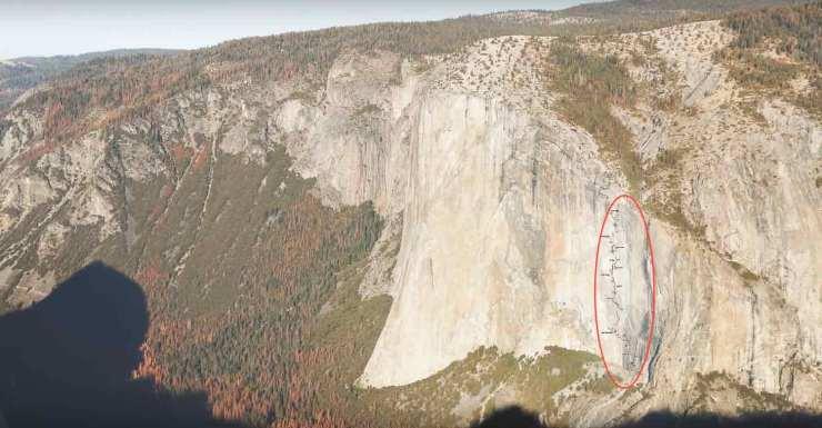 Zodiac am El Capitan im Yosemite Valley - USA