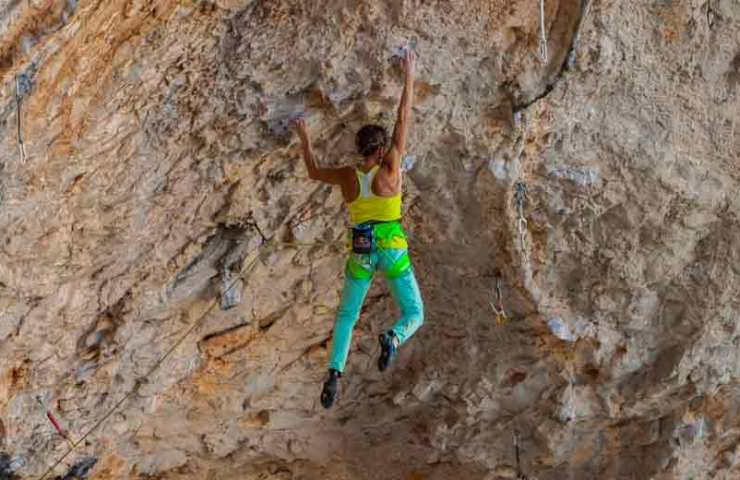 Interview with Angela Eiter on the commission of La Planta de Shiva (9b)