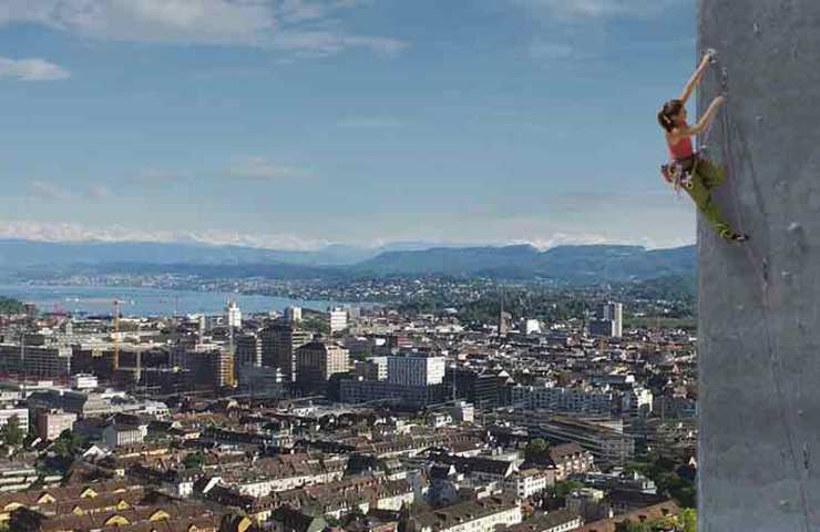 Nordwand-Feeling am Swissmill-Turm - Projekt Zürinordwand