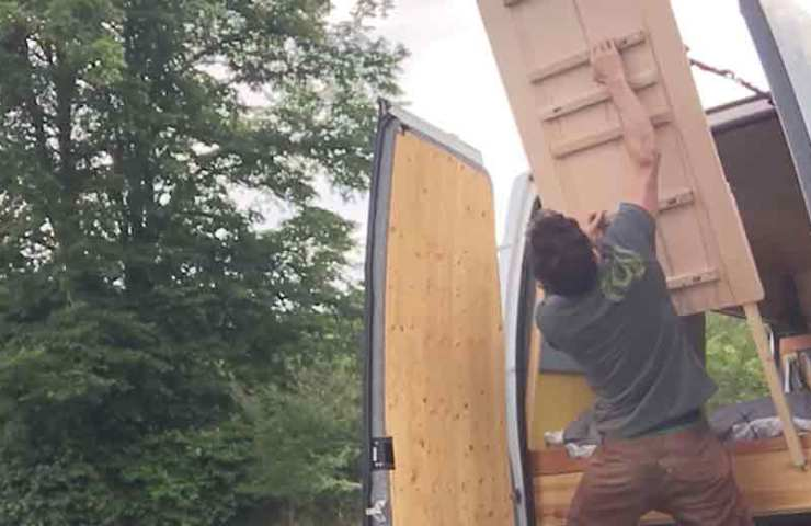 So baust dir ein Campusboard in deinen Camper