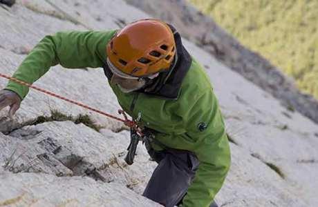 Marcel Remy klettert Mehrseillängentour im Alter von 94 Jahren